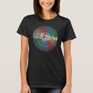 Bernie Sanders Shirt v4 | Women's Retro Colorburst