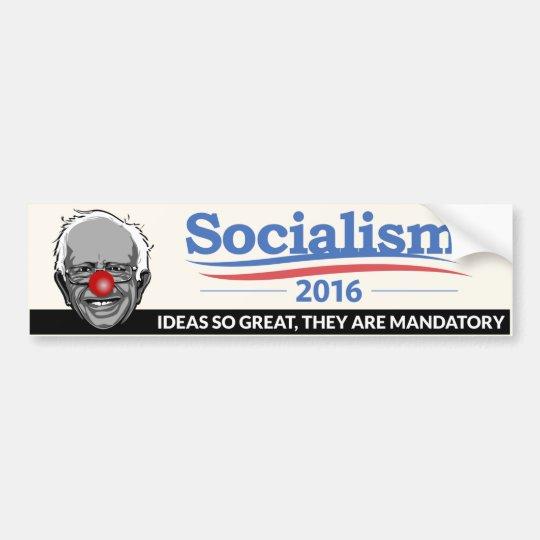 Bernie Sanders - Socialism Bumper Sticker