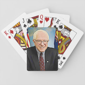 Bernie Sanders Support Digital Art Playing Cards