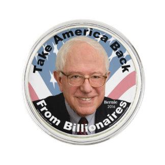 Bernie Sanders Take America Back Lapel Pin