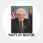 Bernie Sanders, That's My Senator! Round Sticker