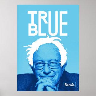 """Bernie Sanders """"True Blue"""" Poster"""