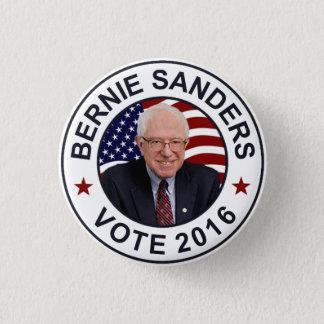 Bernie Sanders US Flag 1 Inch Round Button