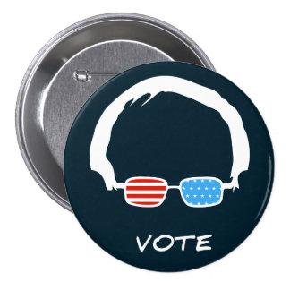 Bernie Sanders - Vote! 3 Inch Round Button