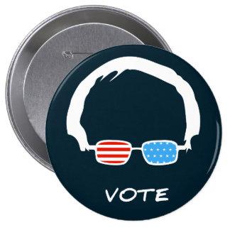 Bernie Sanders - Vote! 4 Inch Round Button