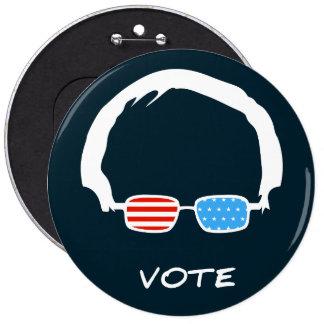 Bernie Sanders - Vote! 6 Inch Round Button