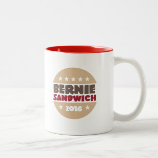 Bernie Sandwich Two-Tone Coffee Mug