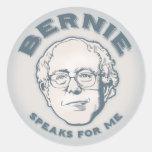 Bernie Speaks for Me Stickers