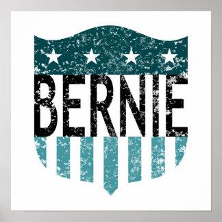 BERNIE stars and stripes Poster