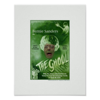 Bernie The Ghoul Poster
