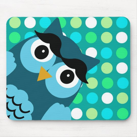 Bernie the Owl Mouse Pad