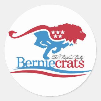 Berniecrats - Logo Stickers