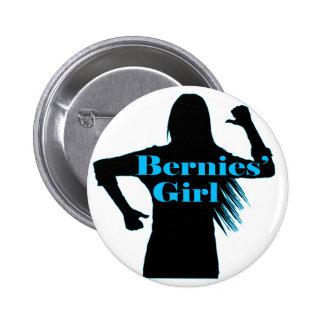 Bernies Girl Bernie Sanders 2 Inch Round Button