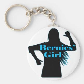 Bernies Girl Bernie Sanders Keychain