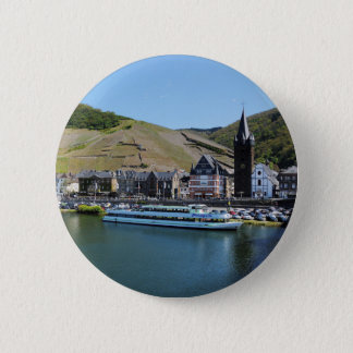 Bernkastel Kues at Moselle 2 Inch Round Button
