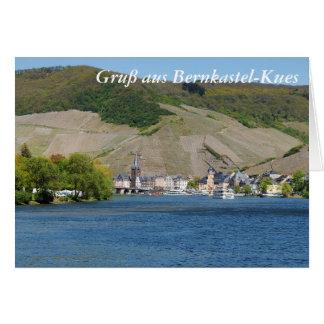 Bernkastel Kues at Moselle Card