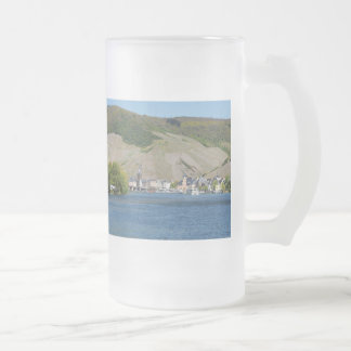 Bernkastel Kues at Moselle Frosted Glass Beer Mug