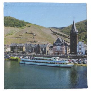 Bernkastel Kues at Moselle Napkin