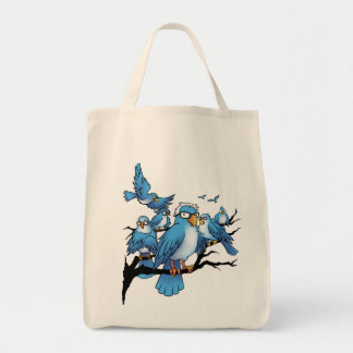 Berns of Afeather - Birdie Sanders Tote Bag