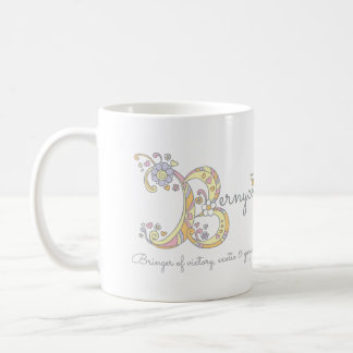 Bernyce letter B name and meaning mug