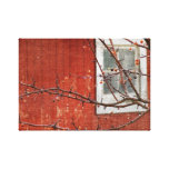 Berries and Barn Canvas Prints