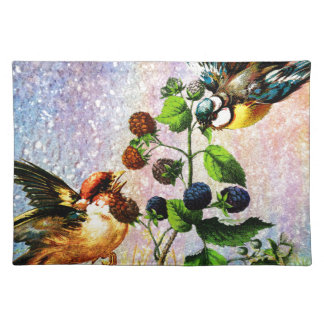 BERRIES AND BIRDS PLACEMAT