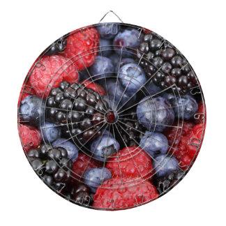 berries background dartboard