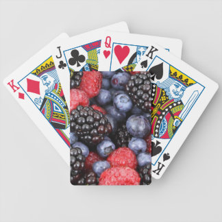 berries background poker deck