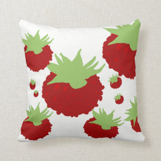 Berries Blossom Decor#7a Modern Throw Pillows