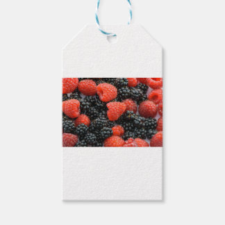 Berries Close Up Gift Tags