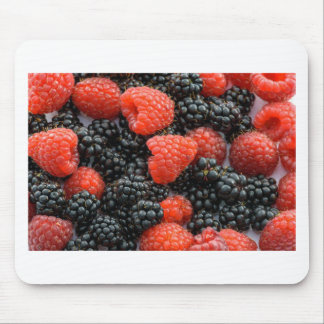 Berries Close Up Mouse Pad