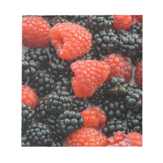 Berries Close Up Notepad