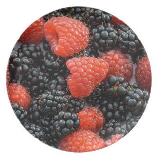 Berries Close Up Plate