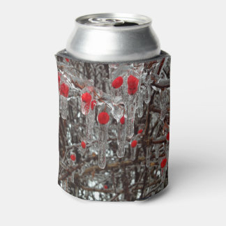 Berries covered ice cancooler can cooler