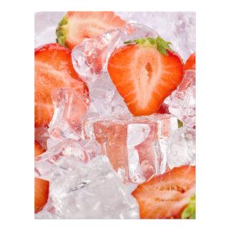 Berries in ice custom flyer