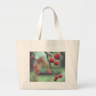 Berries Large Tote Bag