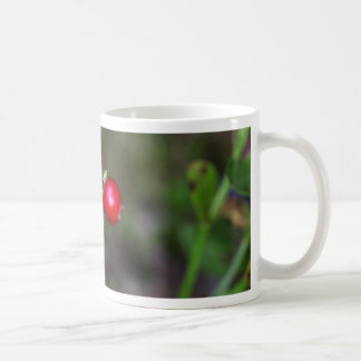 Berries of a wild lingonberry (Vaccinium vitis-ide Coffee Mug