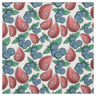 Berries Pattern fabric