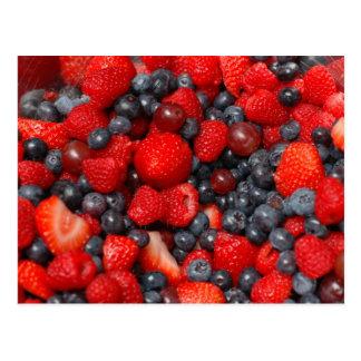 Berries Postcard