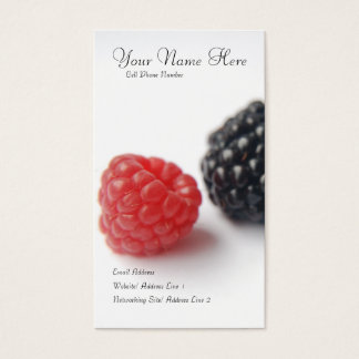 berries profile card