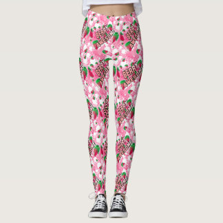 Berry Awesome Fruity Leggings