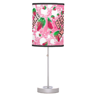 Berry Awesome Fruity Pink Table Lamp