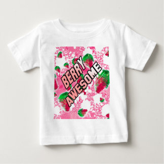 Berry Awesome Fruity Strawberries Baby T-Shirt