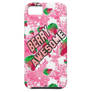 Berry Awesome Fruity Strawberries Case For The iPhone 5