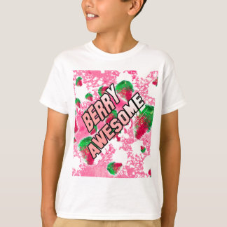 Berry Awesome Fruity Strawberries T-Shirt