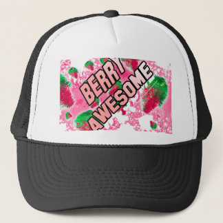 Berry Awesome Fruity Strawberries Trucker Hat