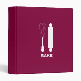 """Berry """"Bake"""" Recipe 3 Ring Binder"""