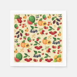 Berry Berry Nice Cocktail Napkins Disposable Napkin