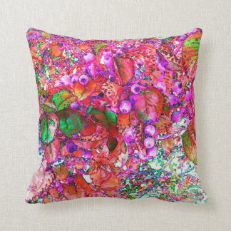 Berry Bliss Throw Pillow