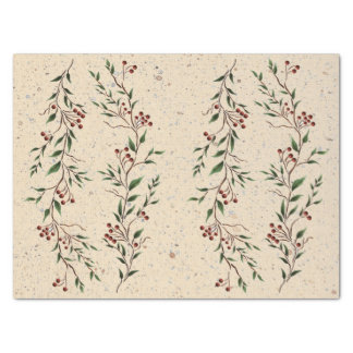 Berry Branch Tissue Paper